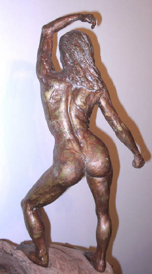 figure sculpture WinDancer  Sculptor Rod Patterson
